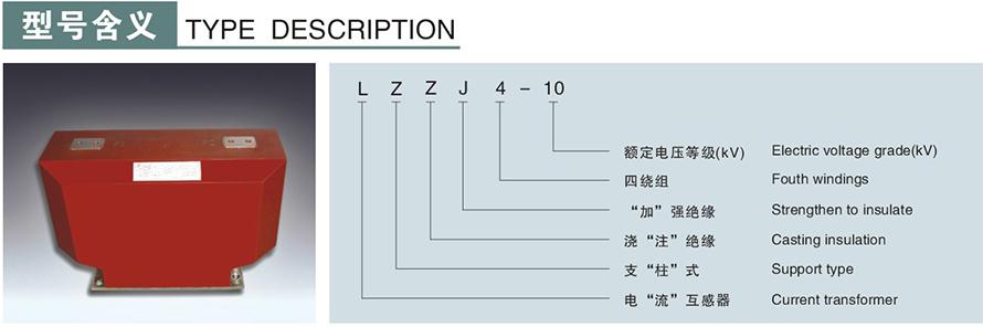 LZZJ4-10型u赢电竞怎么样u赢电竞返现型号说明